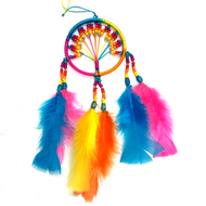 Ecuadorian Beaded Dream Catcher Medium