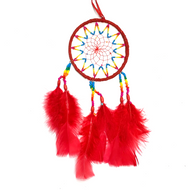 Ecuadorian Beaded Dream Catcher Large