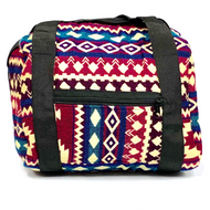 "12"" Tribal Design Padded Cotton Bag Paykoc"