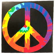 """Peace Sign Wall Hanging Tapestry 30""""x40"""""""