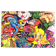 """Alice Trips HARD Wall Hanging Tapestry 30""""x40"""""""