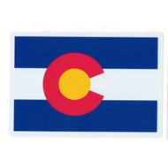 """Colorado Flag High Quality Sticker 2.75"""" x 4"""""""