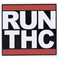 Run THC Iron On Patch