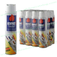 Twelve Bottles of Newport Ultra Refined Butane