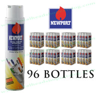 Master Case Bottles of Newport Ultra Refined Butane