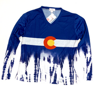 Colorado Long Sleeve Tie Dye in Cotton Large