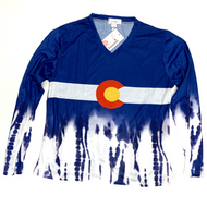 Colorado Long Sleeve Tie Dye in Cotton Medium