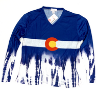 Colorado Long Sleeve Tie Dye in Cotton Small