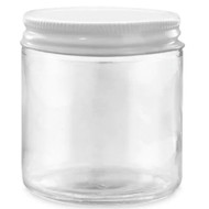 16oz Jar w/ White Metal Lid