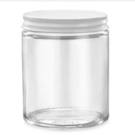 6oz Jar w/ White Metal Lid