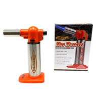 Flaming Hot Orange Big Buddy Butane Torch by Blazer