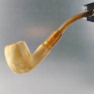 Miniature Meerschaum Classic Estate Pipe - Profile