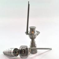 Titanium Universal Domeless Nail w/ Carb Cap