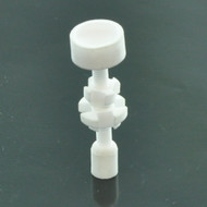 Ceramic Universal Nail w/ Threaded Adapter 18/14mm