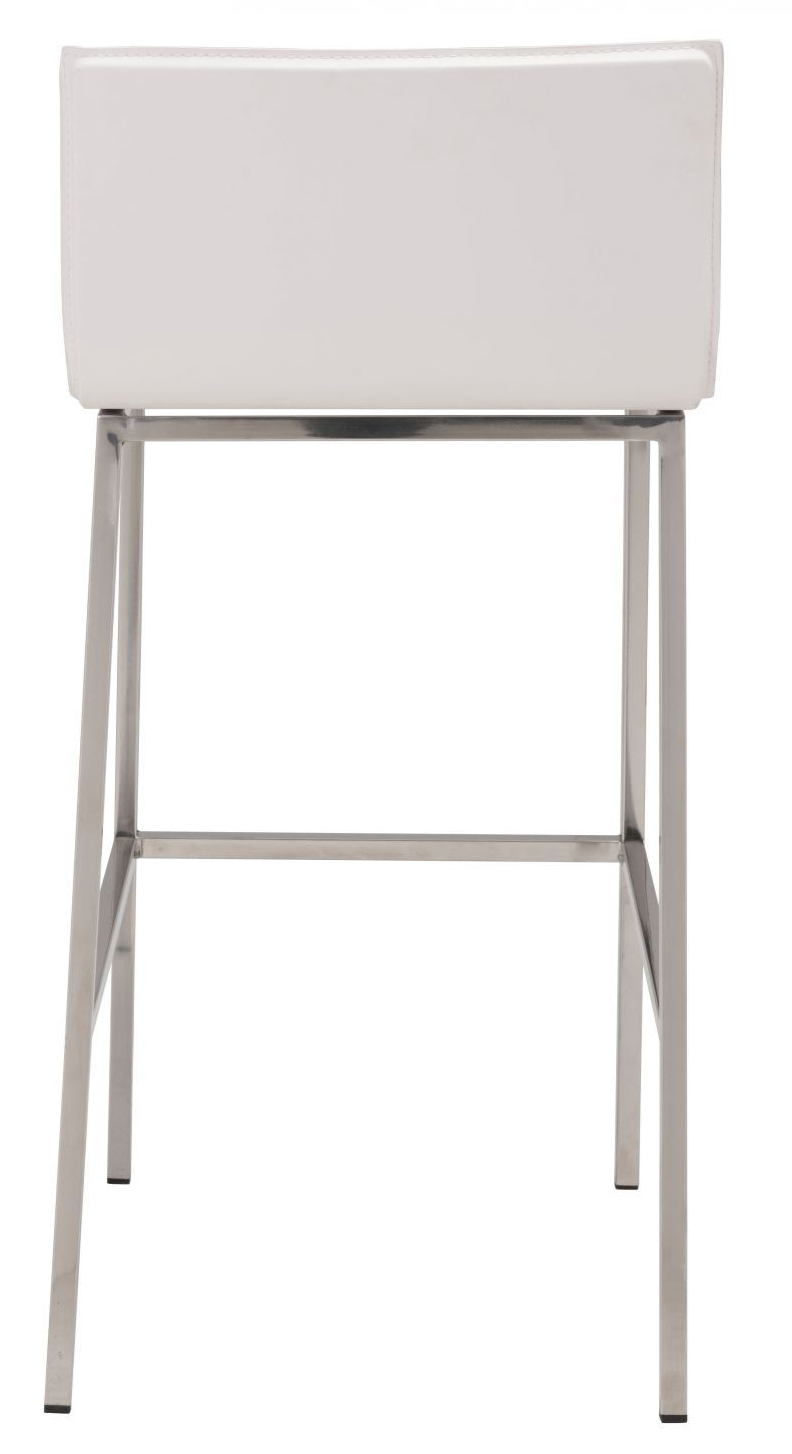 marina barstool in white