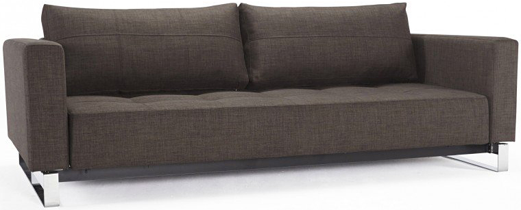 503 cassius del sofa bed begum dark brown sofa bed
