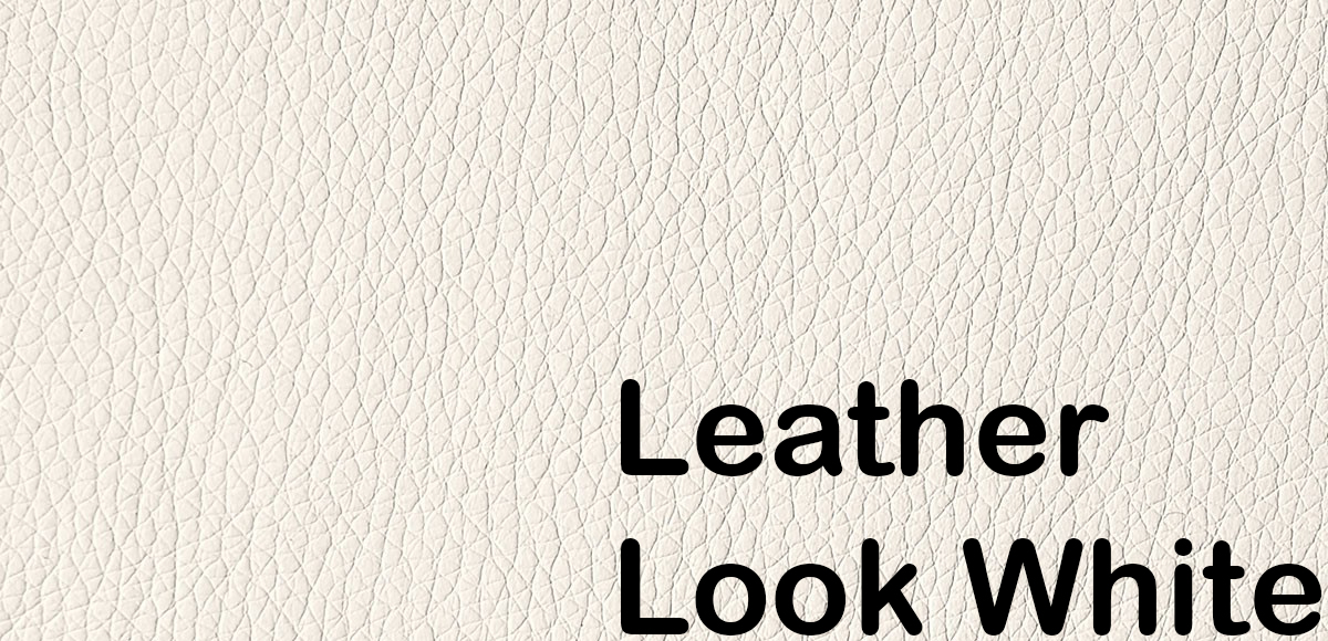 leather look white 588