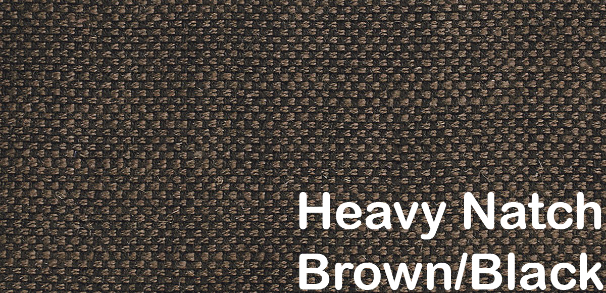 heavy natch brown black pattern