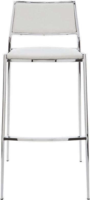 the nuevo living aaron bar stool in black