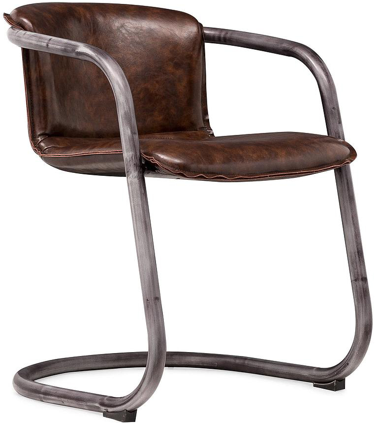 antonio cognac chair