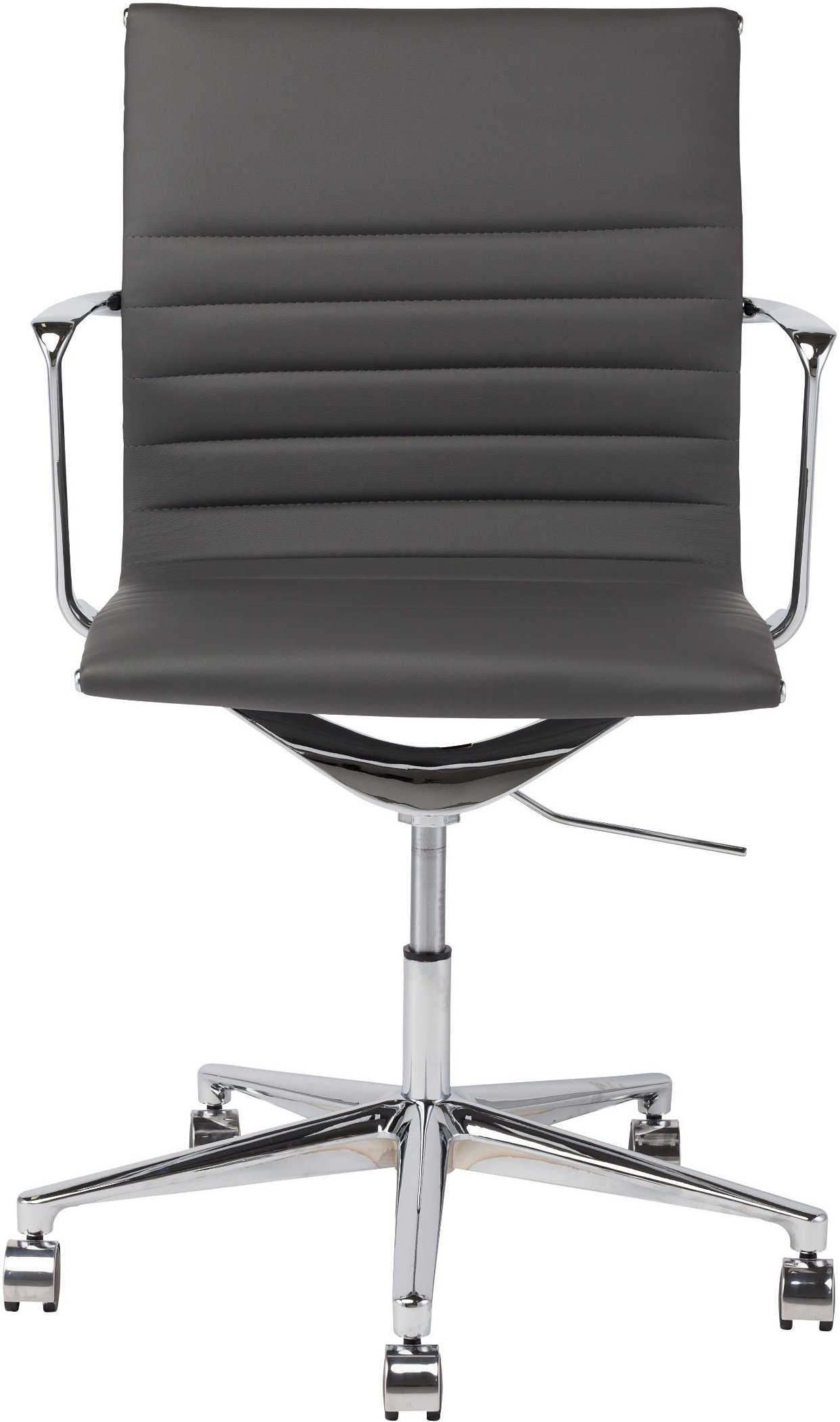 the antonio office chair in dark grey