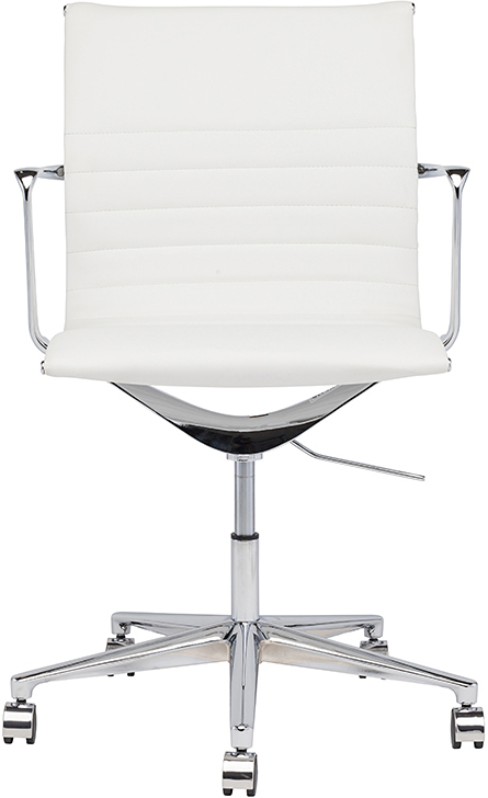 the antonio office chair in white