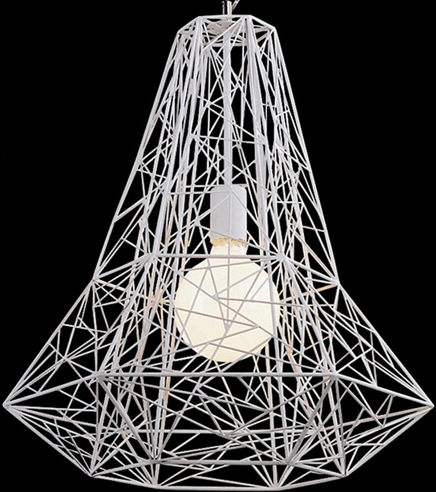 the apollo pendant lamp in white