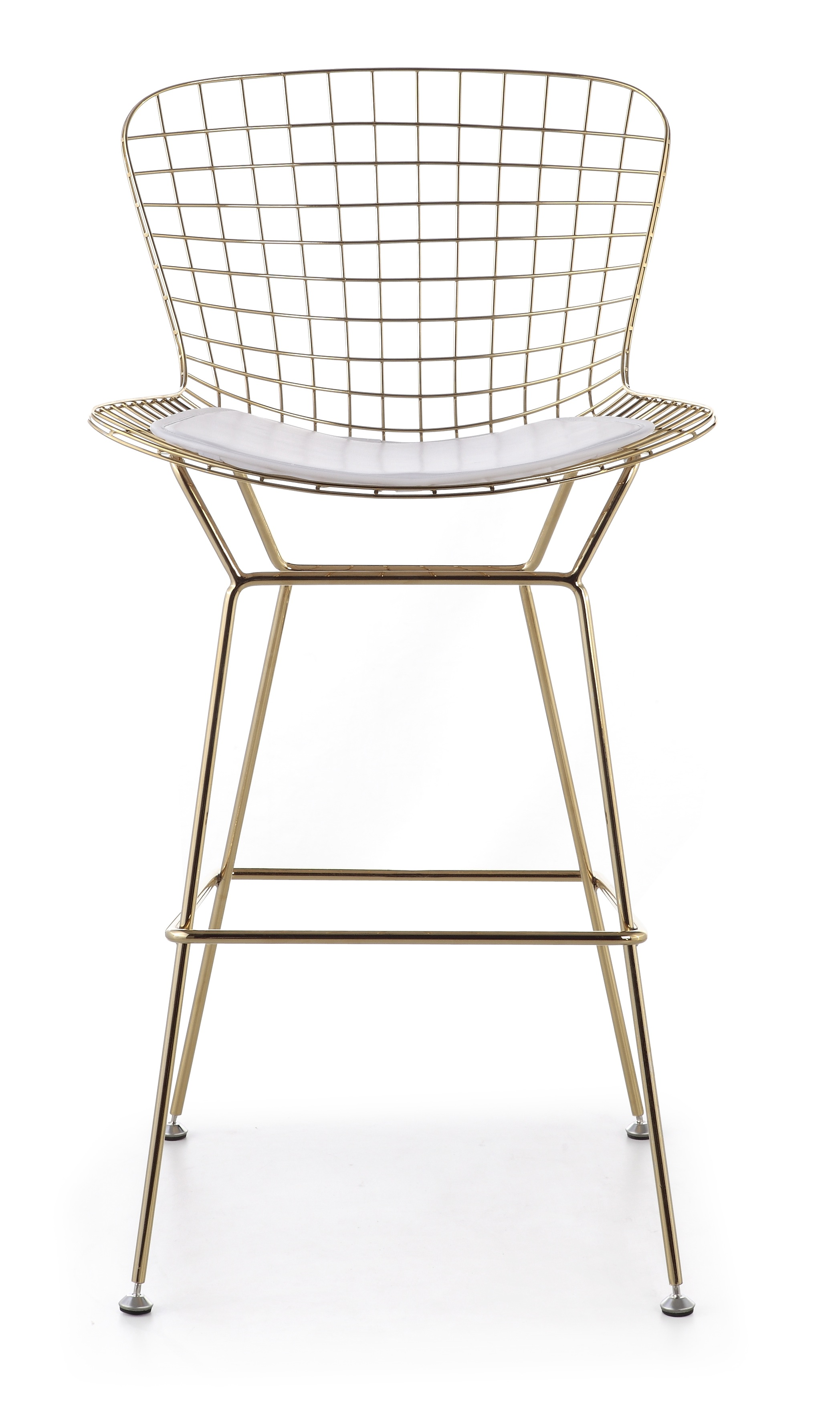 super popular 86d89 6b536 Bertoia Bar Stool In Gold Finish