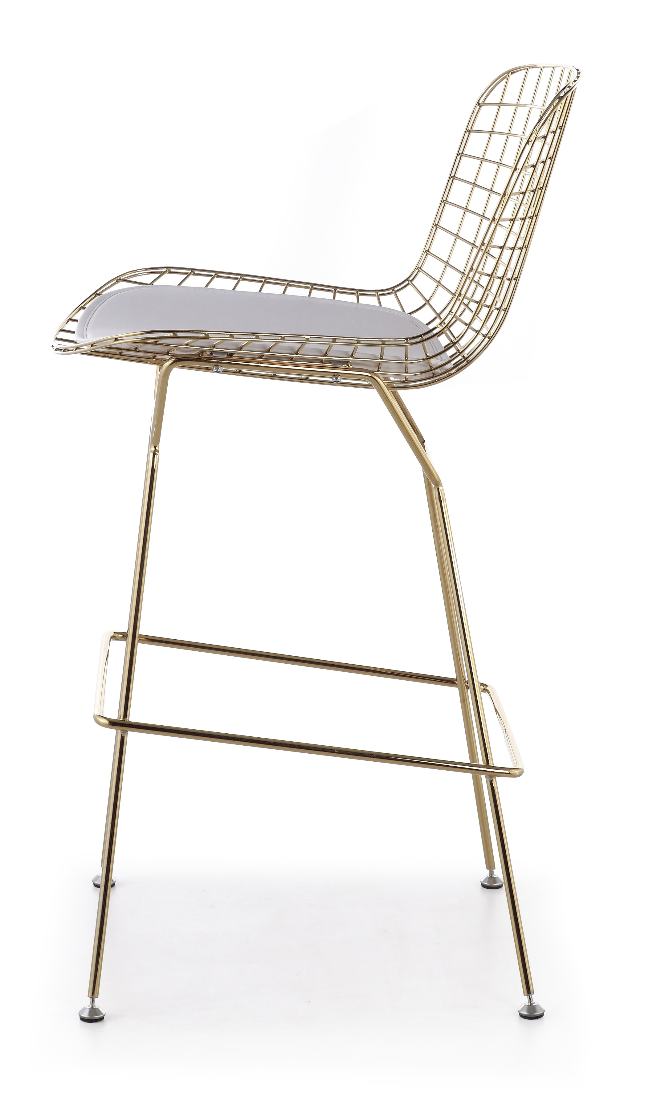 Marvelous Bertoia Bar Stool In Gold Finish Ocoug Best Dining Table And Chair Ideas Images Ocougorg