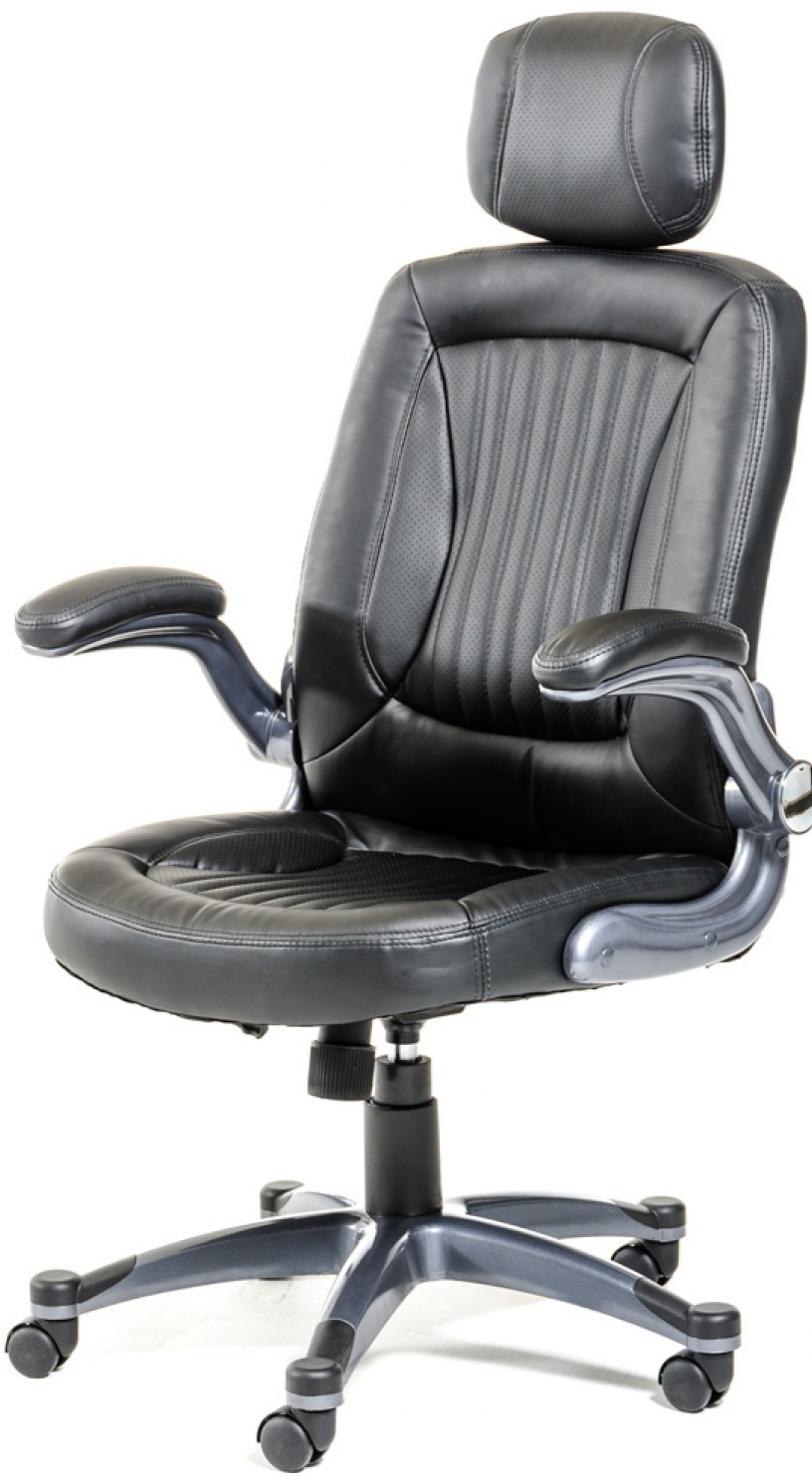 The Chief Executive Black Modern Office Chair is a new chair available at AdvancedInteriorDesigns.com
