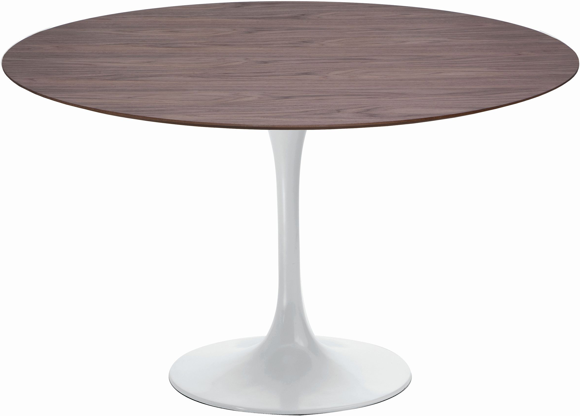 the cal dining table in american walnut