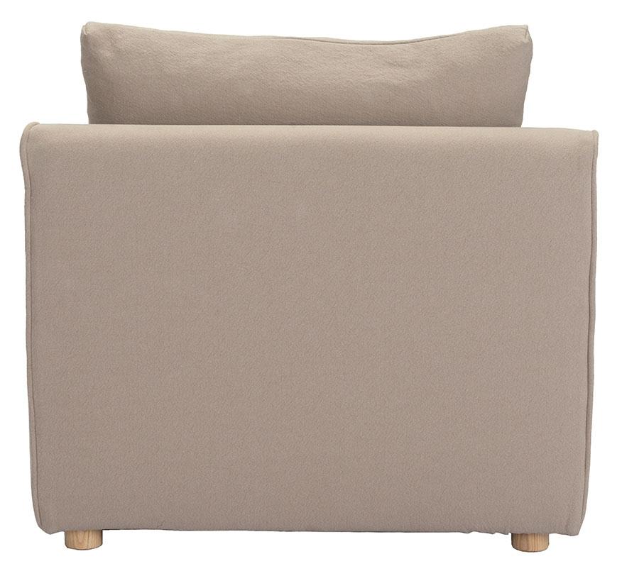 california single chair stone