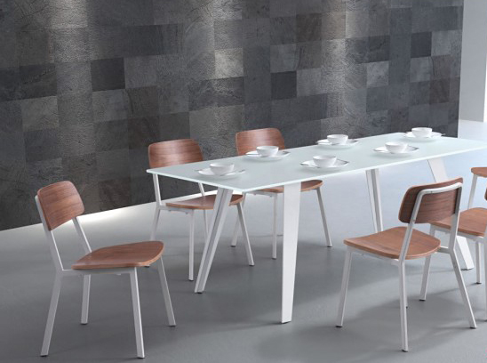 zuo mod cappuccino dining chair available at Advanced Interior Designs