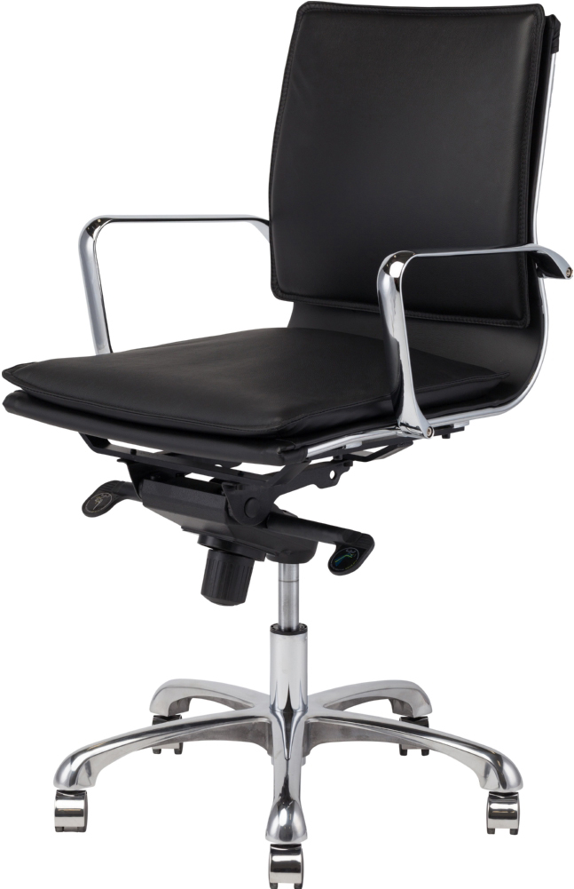nuevo carlo office chair in black