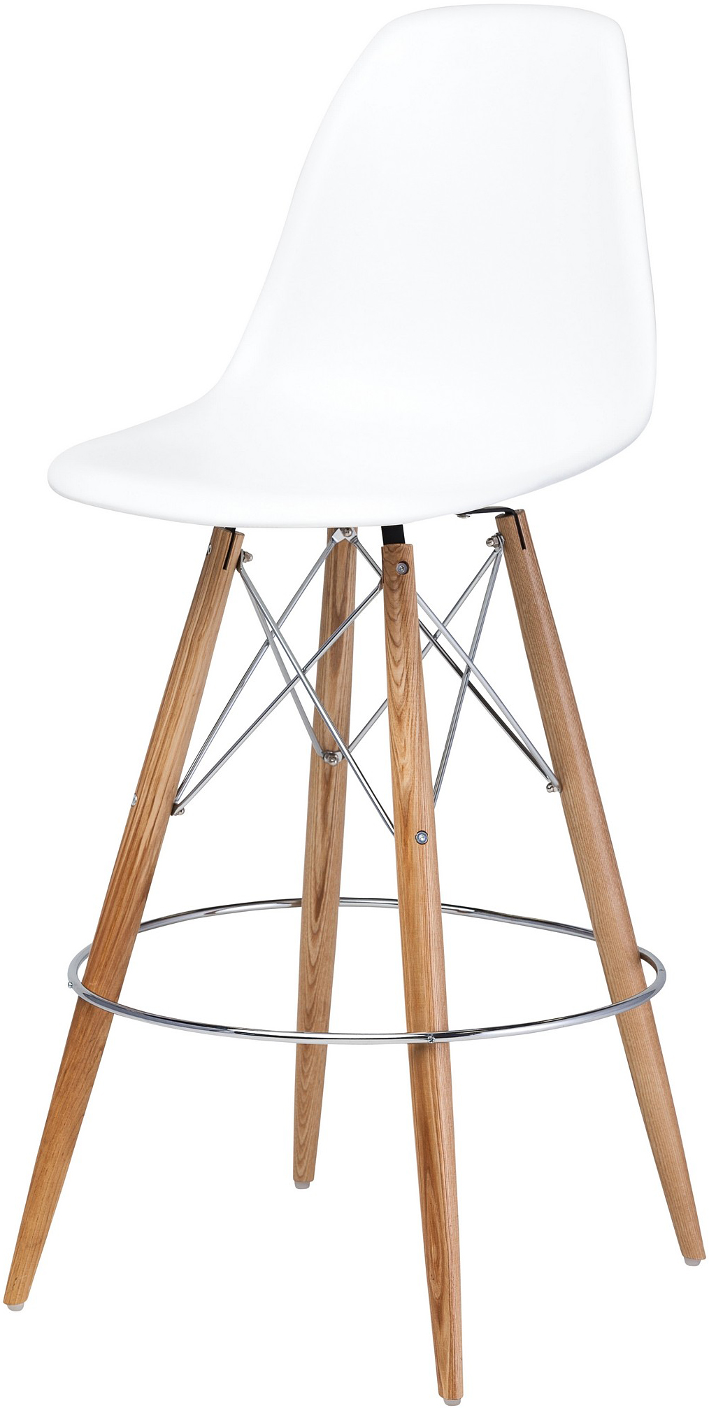 charlotte bar stool white