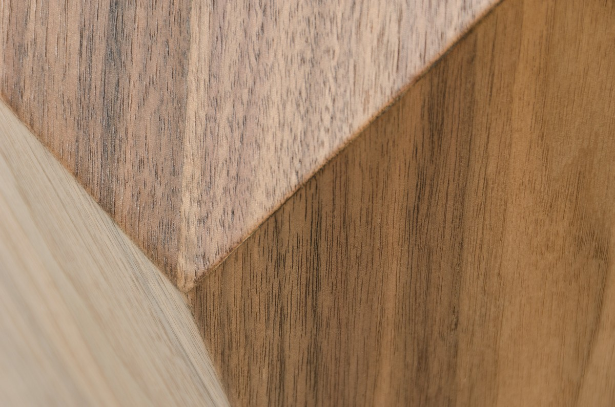 close up shot of the alvar dining table