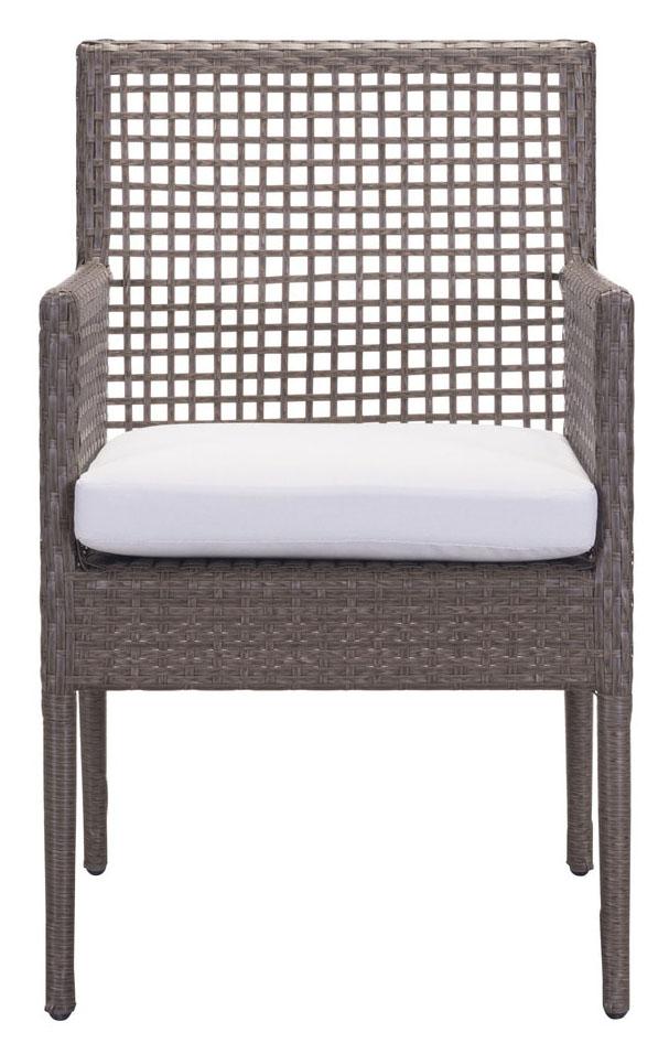 coronado dining chair cocoa light gray