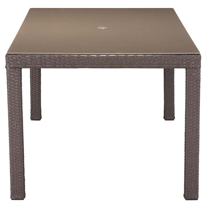 zuo modern coronado dining table cocoa