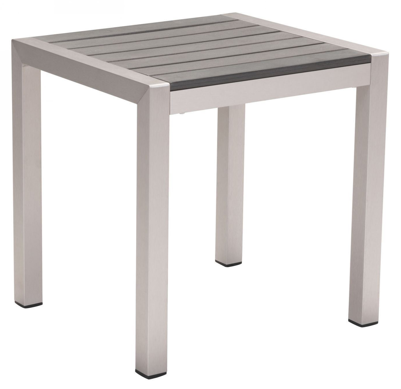 cosmopolitan side table b aluminum