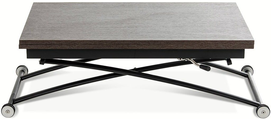 Check out the extendable side table called the Studio Coffee Table that features an easy to use  gas lift.