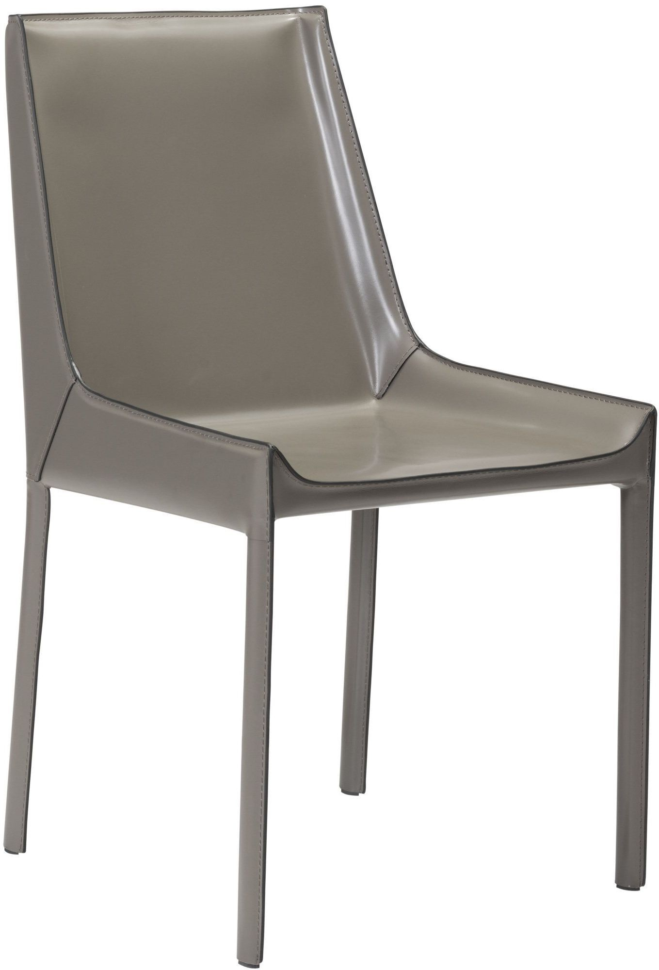 zuo modern fashion stone gray dining chair