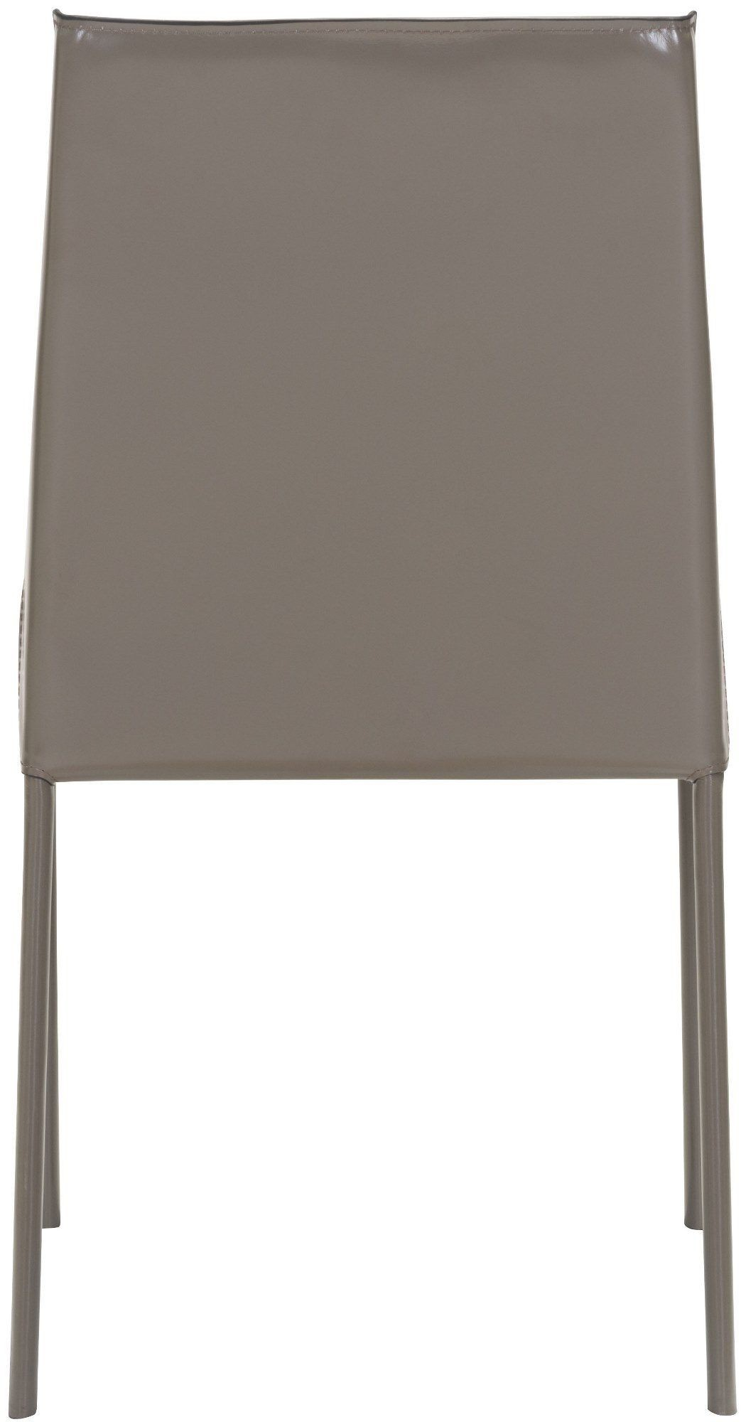 zuo fashion stone gray dining chair