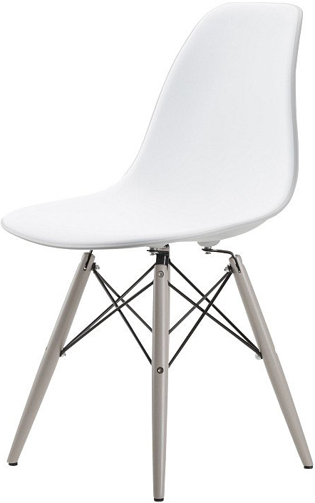 the felica dining chair in light grey