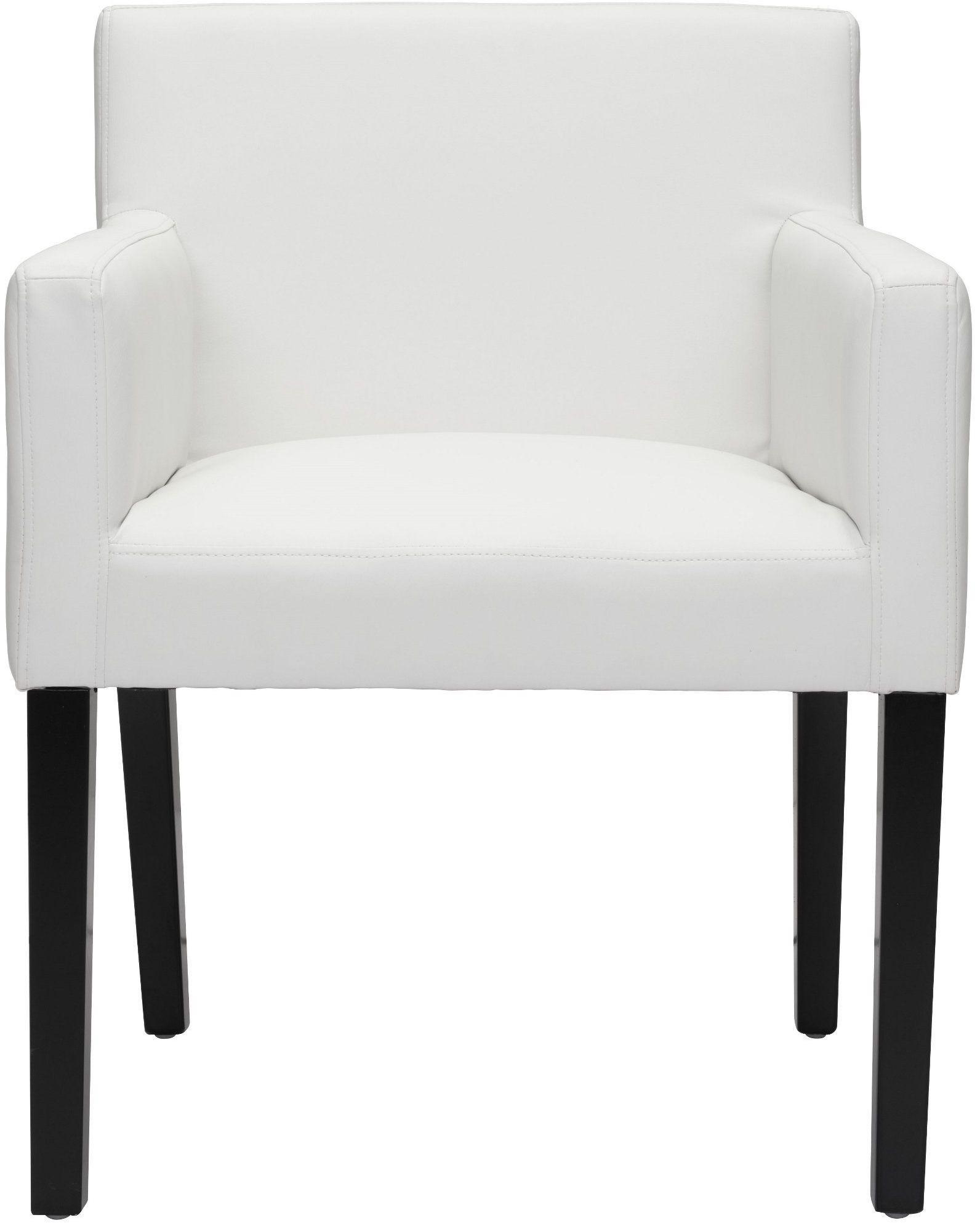 white franklin dining chair
