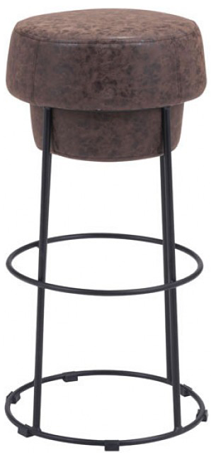 front shot of the bar stool