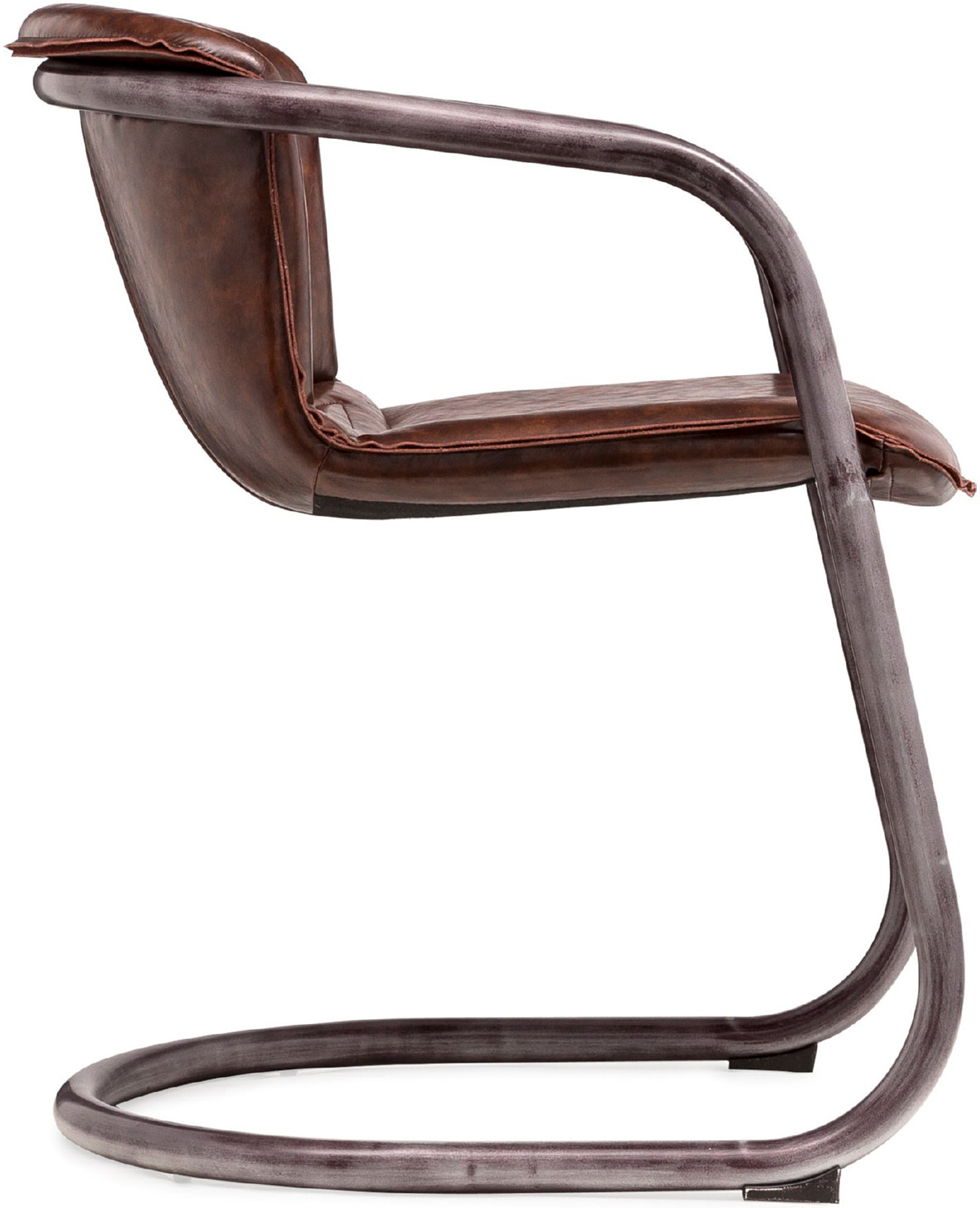 the gear dining chair in vintage brown