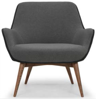 nuevo living gretchen occasional chair slate grey