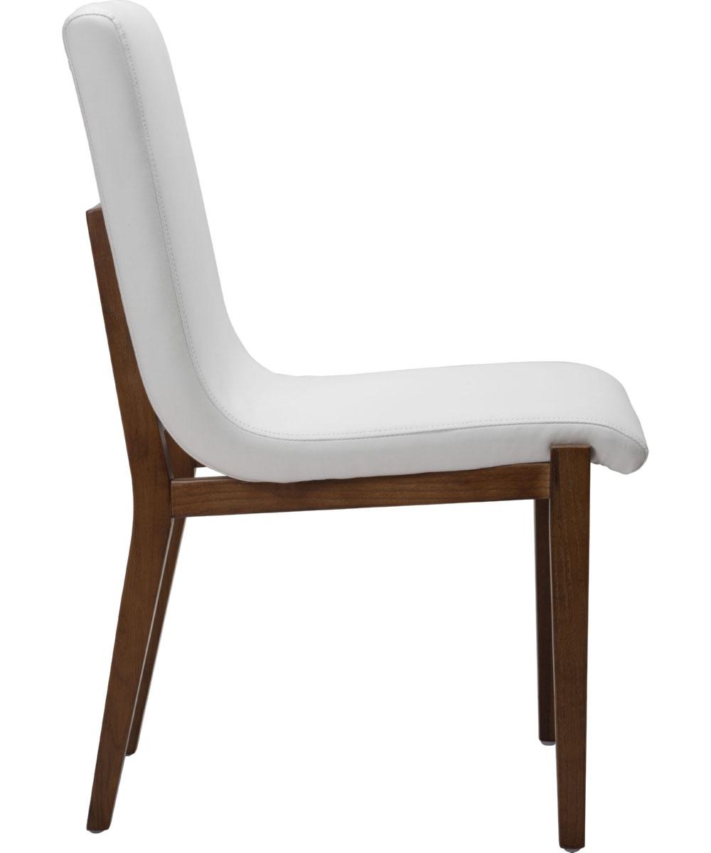 zuo modern hamilton dining chair white