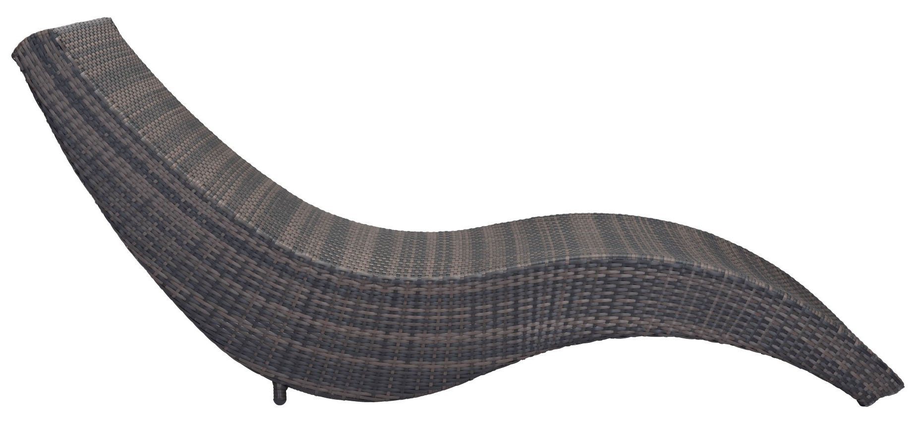 hassleholtz beach chaise lounge brown