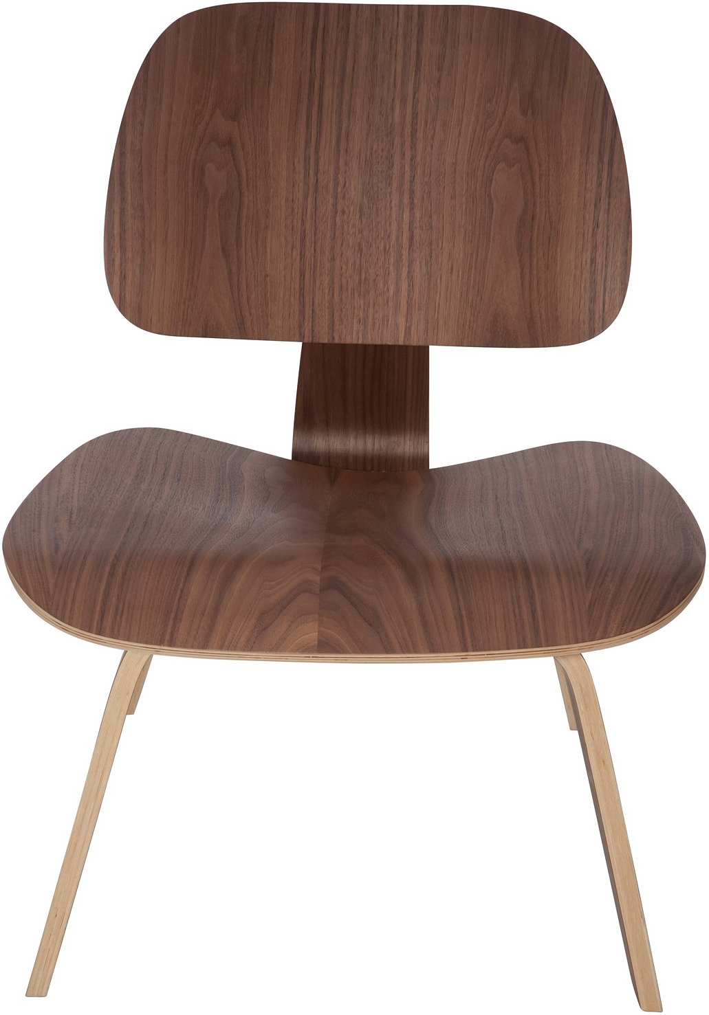american walnut helena lounge chair